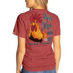 Juniors Hot Mess T-shirt