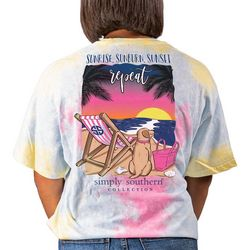 Simply Southern Juniors Sunrise, Repeat T-shirt