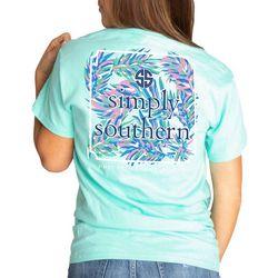 Simply Southern Juniors Foliage Screen Print T-shirt
