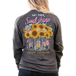 Simply Southern Juniors Soul Shine Long Sleeve Top