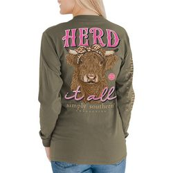 Simply Southern Herd It All Long Sleeve Top
