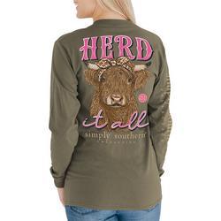Herd It All Long Sleeve Top