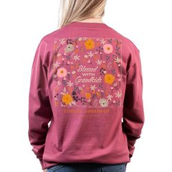 Simply Southern Juniors Blessed Long Sleeve Top