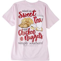 Simply Southern Juniors Raised On T-Shirt