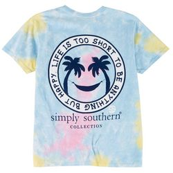 Simply Southern Juniors Anything But Happy T-Shirt
