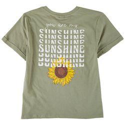 Messy Buns, Lazy Days Juniors Sunshine Short Sleeve
