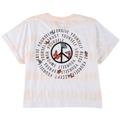 Messy Buns, Lazy Days Juniors Yourself Tie-Dye T-shirt