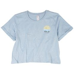 Messy Buns, Lazy Days Juniors Rise Up Short Sleeve