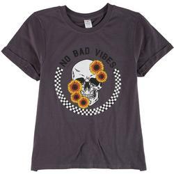 Juniors No Bad Vibes T-Shirt