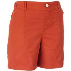 Gloria Vanderbilt Petite Pull-On Utility Shorts