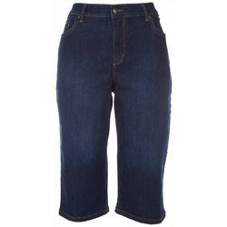 Gloria Vanderbilt Petite Amanda Wide Leg Crop Jeans