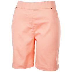 Coral Bay Petite Effortless Matching Shorts