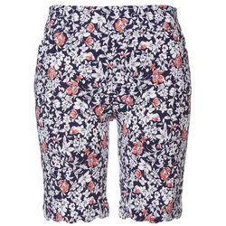 Coral Bay Petite Flowers Scalloped Hem Shorts