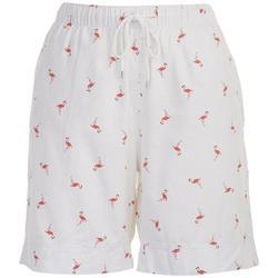 Petite Flamingo Bermuda Shorts