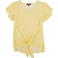 Tint & Shadow Petite Sunny Stripes Top