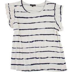 Tint & Shadow Petite Striped Top