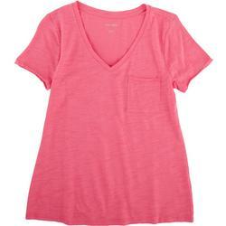 Petite V-Neck T-Shirt