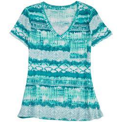 Petite Aruba V-Neck Summer T-Shirt
