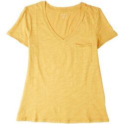 Dept 222 Petite Luxey Short Sleeve Top