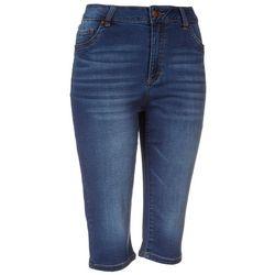D. Jeans Petite High Waiste Capris