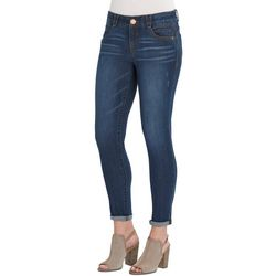 Democracy Petite Ab-solution Skinny Fit Roll Cuff Jeggings