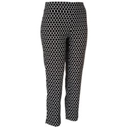 Counterparts Petite Printed Ankle Pants