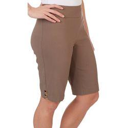 Counterparts Petite Decorative Ring Skimmer Shorts