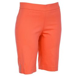 Counterparts Womens Stretch Solid Shorts