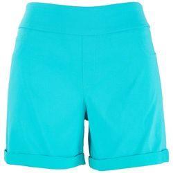 Counterparts Womens Solid Bermuda Shorts