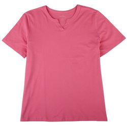 Coral Bay Petite Everyday Short Sleeve Top