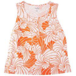 Coral Bay Plus Printed Jewel Sleeveless Top