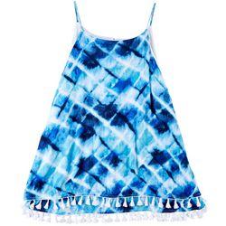 Hailey Lyn Plus Tie-Dye Sleeveless Top