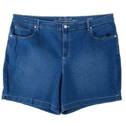 Gloria Vanderbilt Plus Amanda Denim Shorts