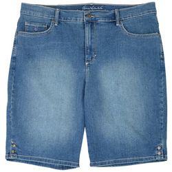 Gloria Vanderbilt Plus Slimming Bermuda Shorts