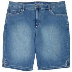Plus Slimming Bermuda Shorts