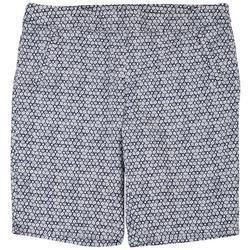 Plus Floral Bermuda Shorts