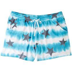 Onque Womens Star Printed Drawstring Shorts