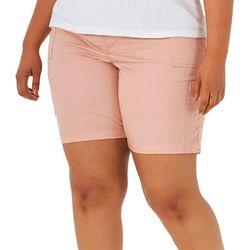 Lee Plus Solid Bermuda Shorts