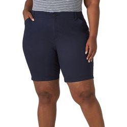 Lee Plus 9'' High Rise Bermuda Shorts
