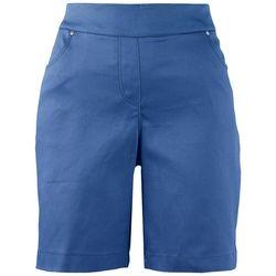 Coral Bay Plus Solid Bermuda Shorts