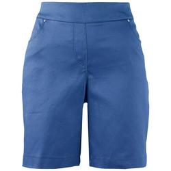 Plus Solid Bermuda Shorts