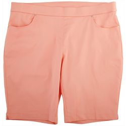Coral Bay Plus Solid Long Shorts
