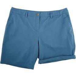 Plus Basic Solid Shorts