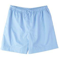 Coral Bay Plus Drawstring Solid Shorts