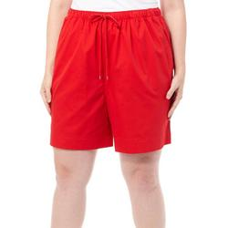 Plus The Everyday Pull On Drawstring Shorts