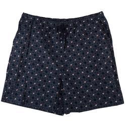 Plus Sailboats Bermuda Shorts