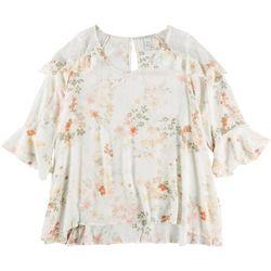 American Rag Plus Floral Top