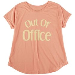 Ana Cabana Plus Out Of Office T-Shirt