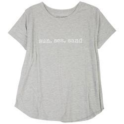 Plus Sun, Sea, Sand T-Shirt