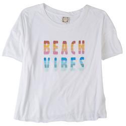 Plus Beach Vibes Round Neck T-Shirt